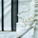 Wool Tallit for Wedding Groom