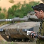 Kosher tefillin on IDF soldier