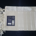 Prima wool Tallit with White Stripes