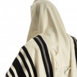 Black-Striped Tallit Wool Tallit